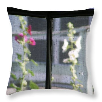 Screened Throw Pillow