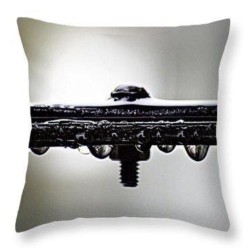 Screw This Rain Throw Pillow by Lisa Knechtel