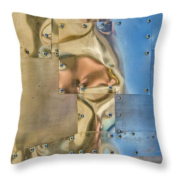 Screwed Throw Pillow