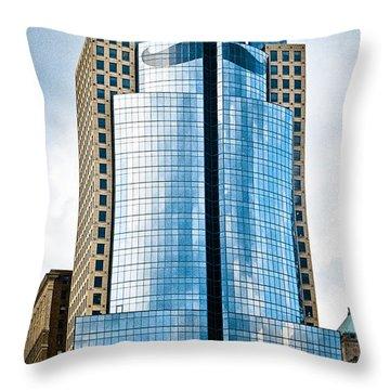 Scripps Building Throw Pillow