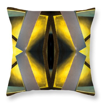 Sculpture On Southport N66v1 Throw Pillow by Raymond Kunst
