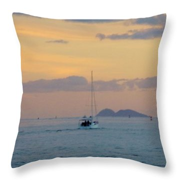 Sd Sumset 1 Throw Pillow