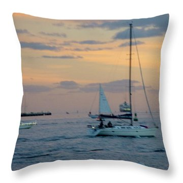 Sd Sunset 3 Throw Pillow