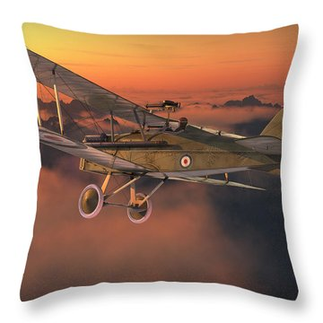 S.e. 5a On A Sunrise Morning Throw Pillow by David Collins