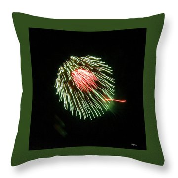 Throw Pillow featuring the photograph Sea Anemone by Sally Sperry
