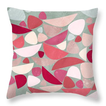 Sea Bed Throw Pillow