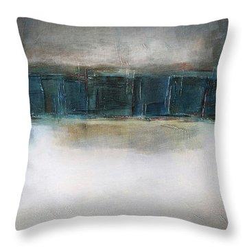 Sea Throw Pillow by Behzad Sohrabi