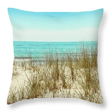 Sea Breeze Throw Pillow by Colleen Kammerer