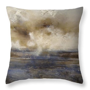 Throw Pillow featuring the painting Sea Breeze by Tamara Bettencourt