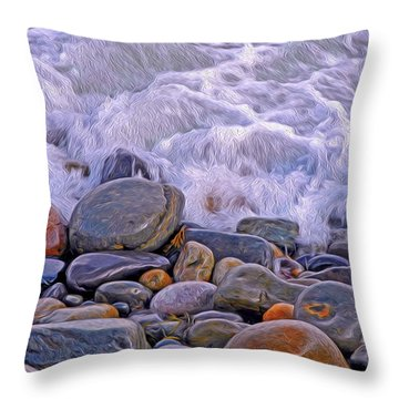 Sea Covers All  Throw Pillow