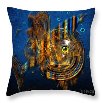 Sea Fish Throw Pillow