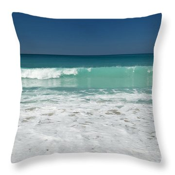 Sea Foam Production Throw Pillow