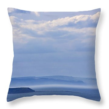 Sea Fret Throw Pillow