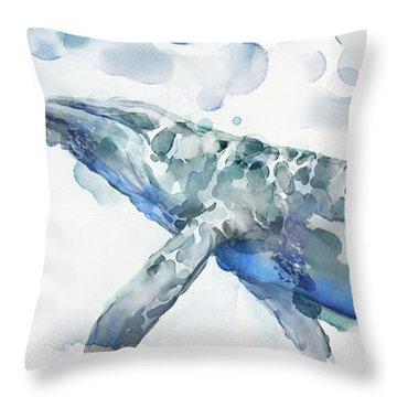 Sea Giant Throw Pillow