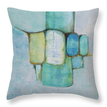 Sea Glass 2 Throw Pillow