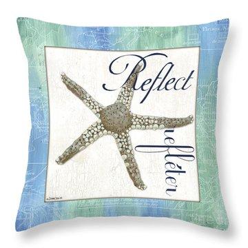 Sea Glass 3 Throw Pillow