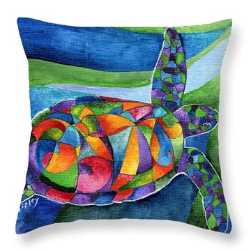 Sea Gypsy Throw Pillow
