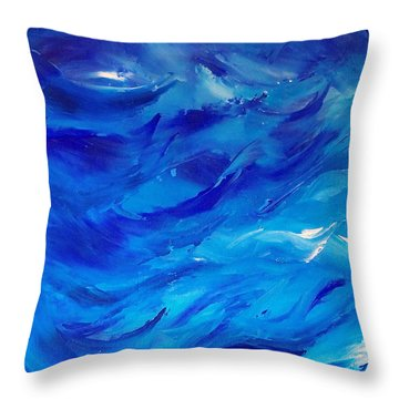 Sea I Throw Pillow