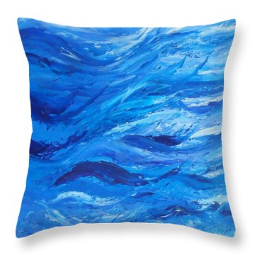 Sea 2 Throw Pillow