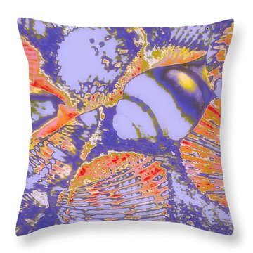 Sea Journey Throw Pillow by Rachel Hannah