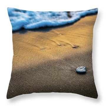 Sea Layers Of Colors Throw Pillow