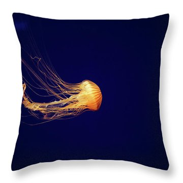 Sea Nettle Dance Throw Pillow