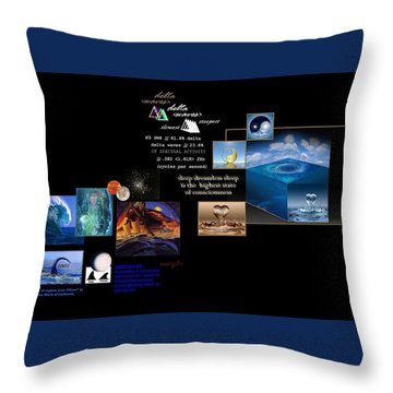 Seas Of Dreams  Throw Pillow