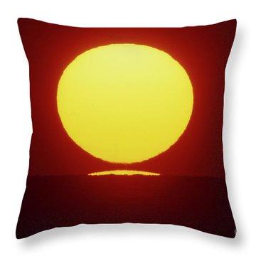 Throw Pillow featuring the photograph Sea Of Japan by Tatsuya Atarashi