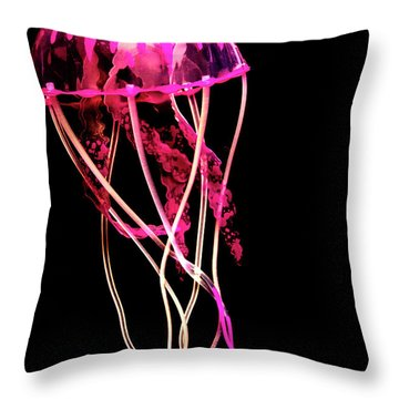 Sea Of Mystery Throw Pillow