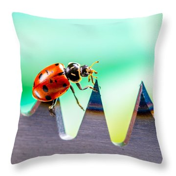 Sea Of Pain Throw Pillow