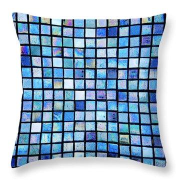 Sea Of Tiles Throw Pillow by Brandon Tabiolo - Printscapes