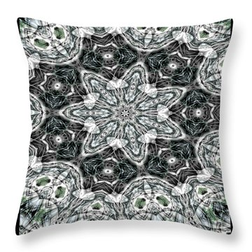 Sea Of Tranquility Throw Pillow by Charmaine Zoe