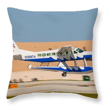 Sea Plane Throw Pillow