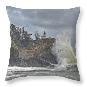 Sea Power Throw Pillow