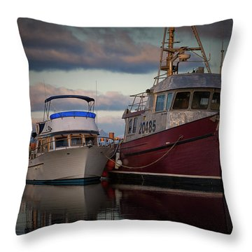 Throw Pillow featuring the photograph Sea Rake by Randy Hall