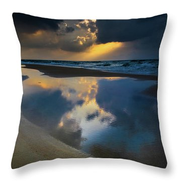 Sea Reflections Throw Pillow