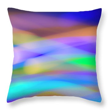 Sea School Throw Pillow