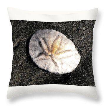 Throw Pillow featuring the photograph Sea Shell by Norman Hall
