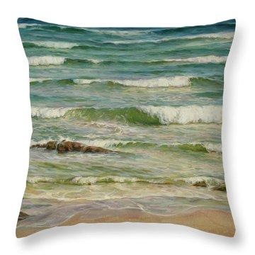 Sea Symphony. Part 1. Throw Pillow