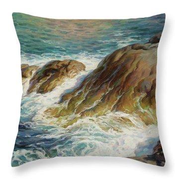 Sea Symphony. Part 2. Throw Pillow