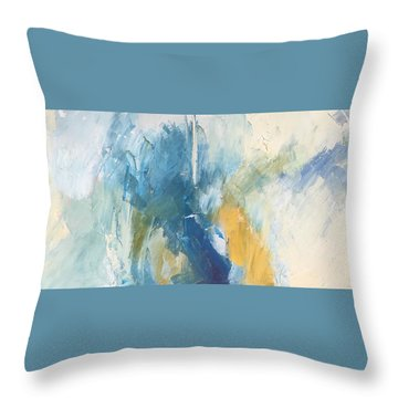 Sea Sky Sun Throw Pillow