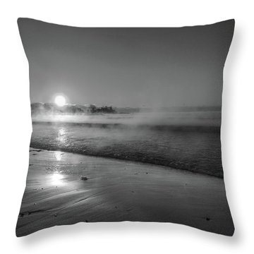 Sea Smoke Throw Pillow