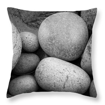 Sea Stack Throw Pillow