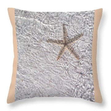 Sea Star 11 Anna Maria Island Throw Pillow