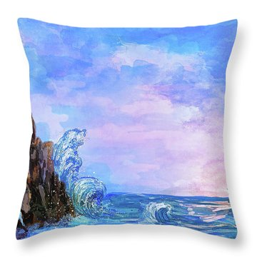 Sea Stories 2  Throw Pillow