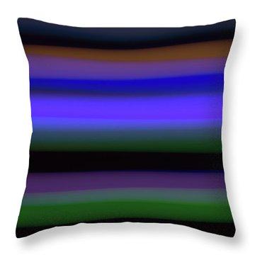 Sea Stripes Throw Pillow