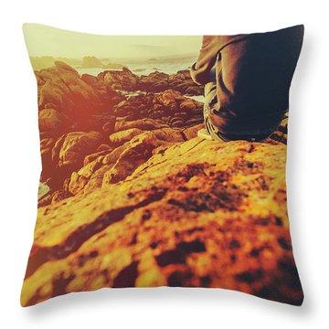 Sea Vacation Wonders Throw Pillow