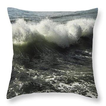 Sea Waves1 Throw Pillow by Svetlana Sewell