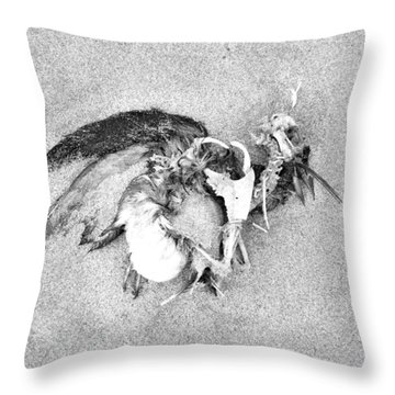 Seabird Fatalities-1 Throw Pillow
