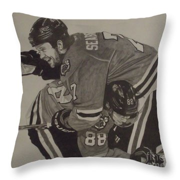 Seabs Scores The Winner Throw Pillow